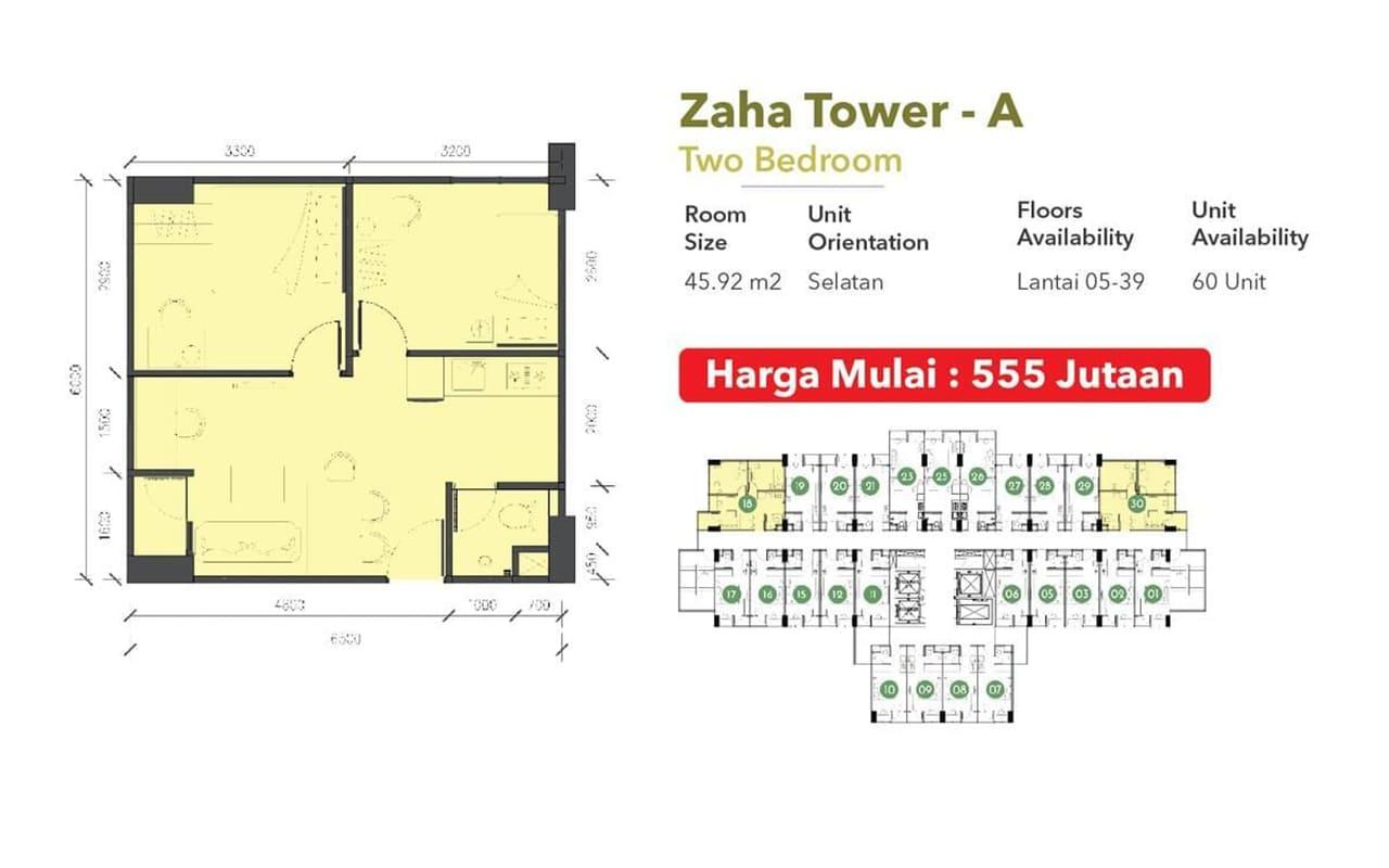 2 br floorplan